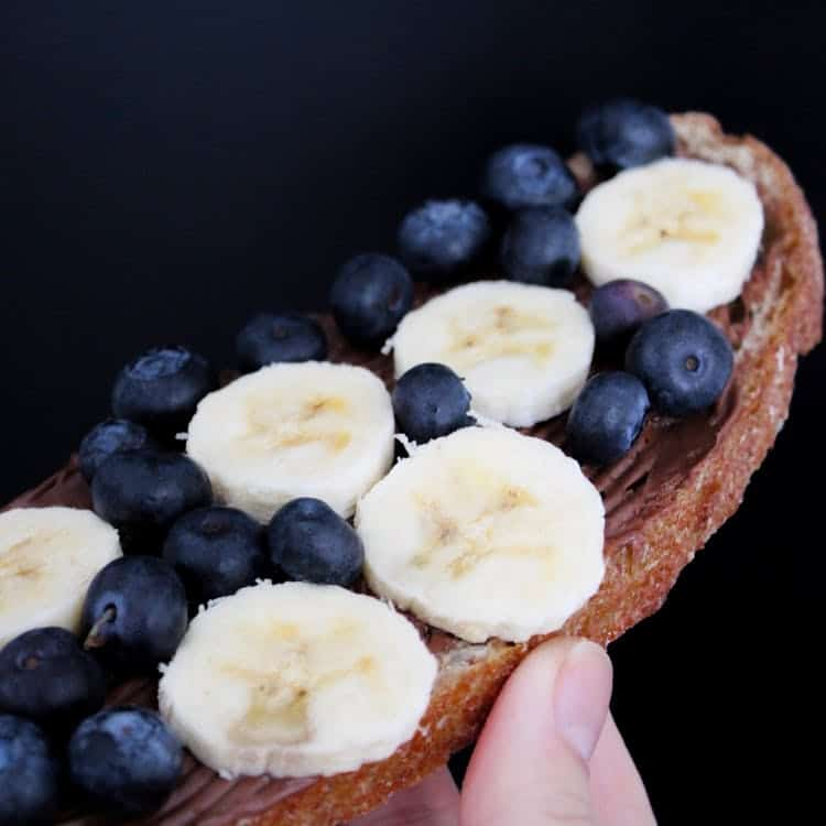 What Can We Eat After Yoga Class? Banana toast